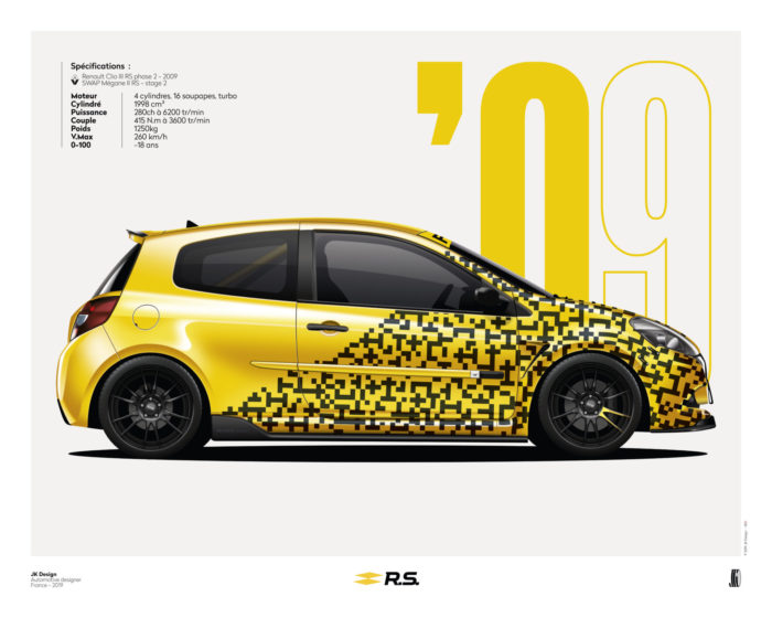 Jk Design - Clio 3 Rs Phase 2 poster