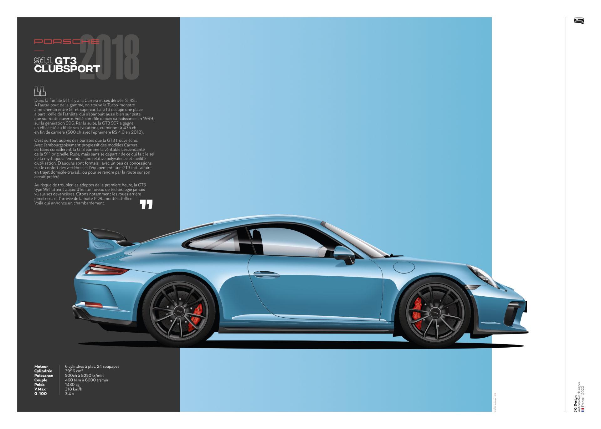 Jk Design - Porsche 911 GT3 - 01
