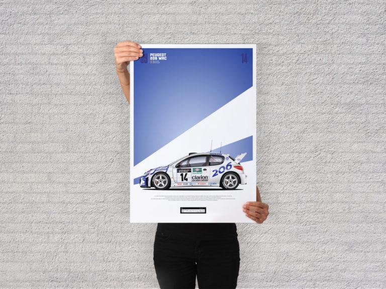 Jk Design - 206 WRC - 03