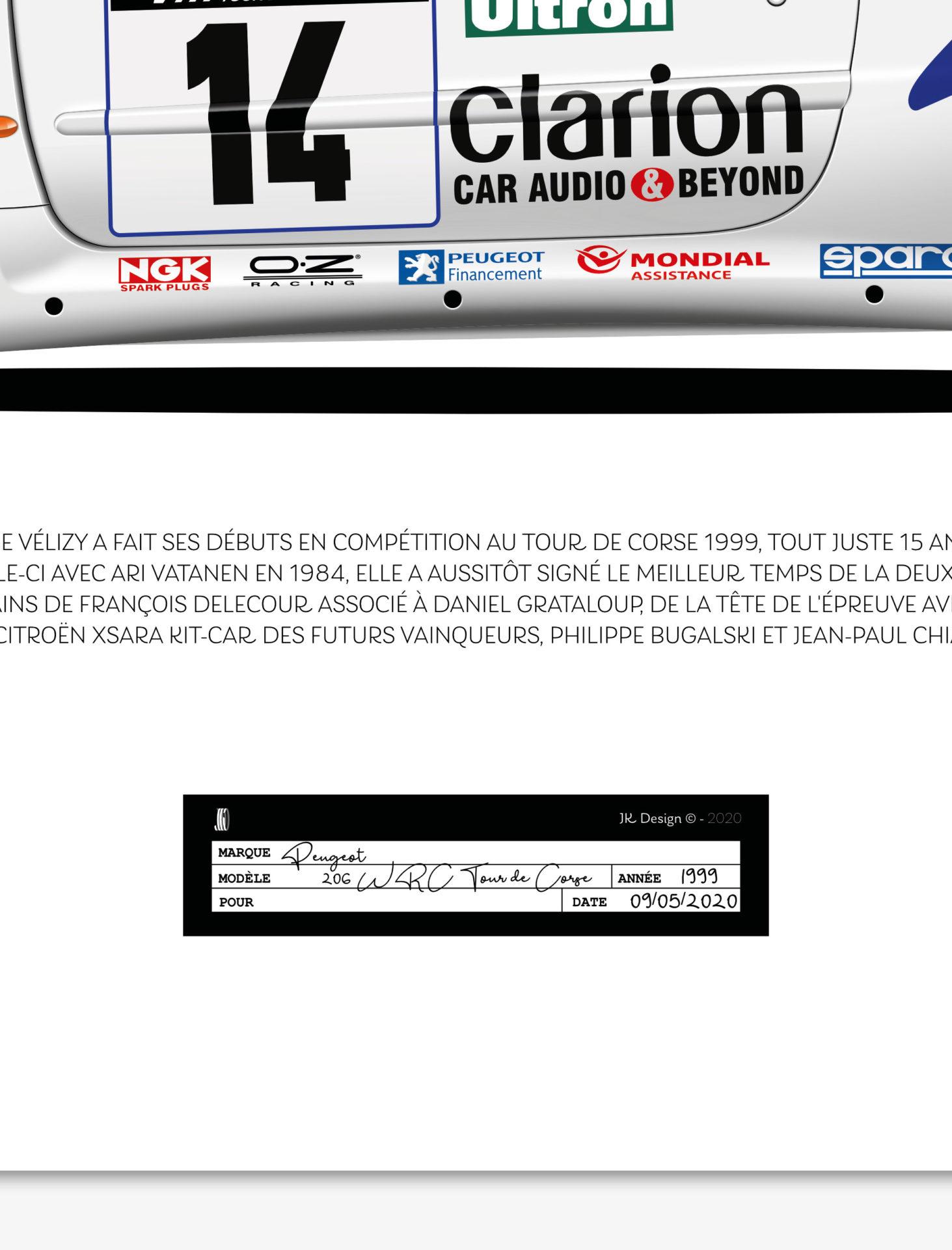 Jk Design - 206 WRC - 05
