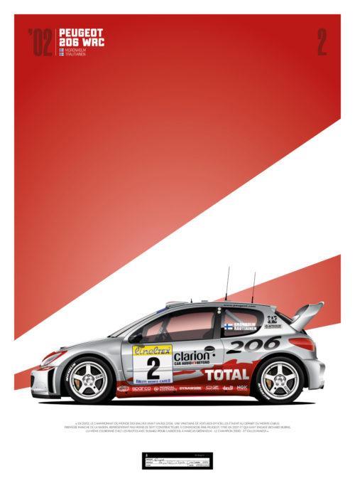 Jk Design - 206 WRC - 06