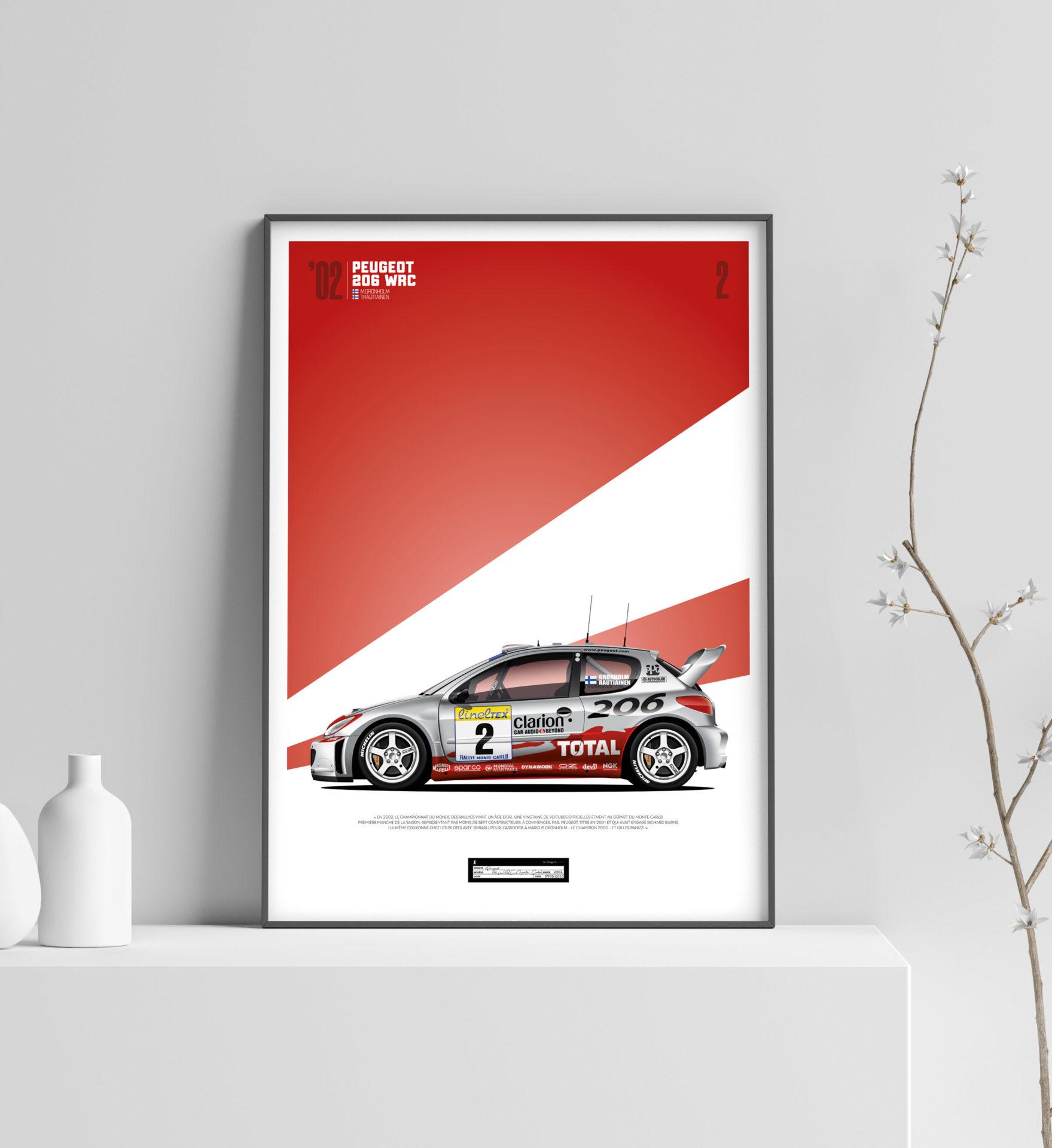 Jk Design - 206 WRC - 07