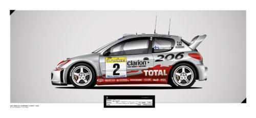 Jk Design - 206 WRC - 16