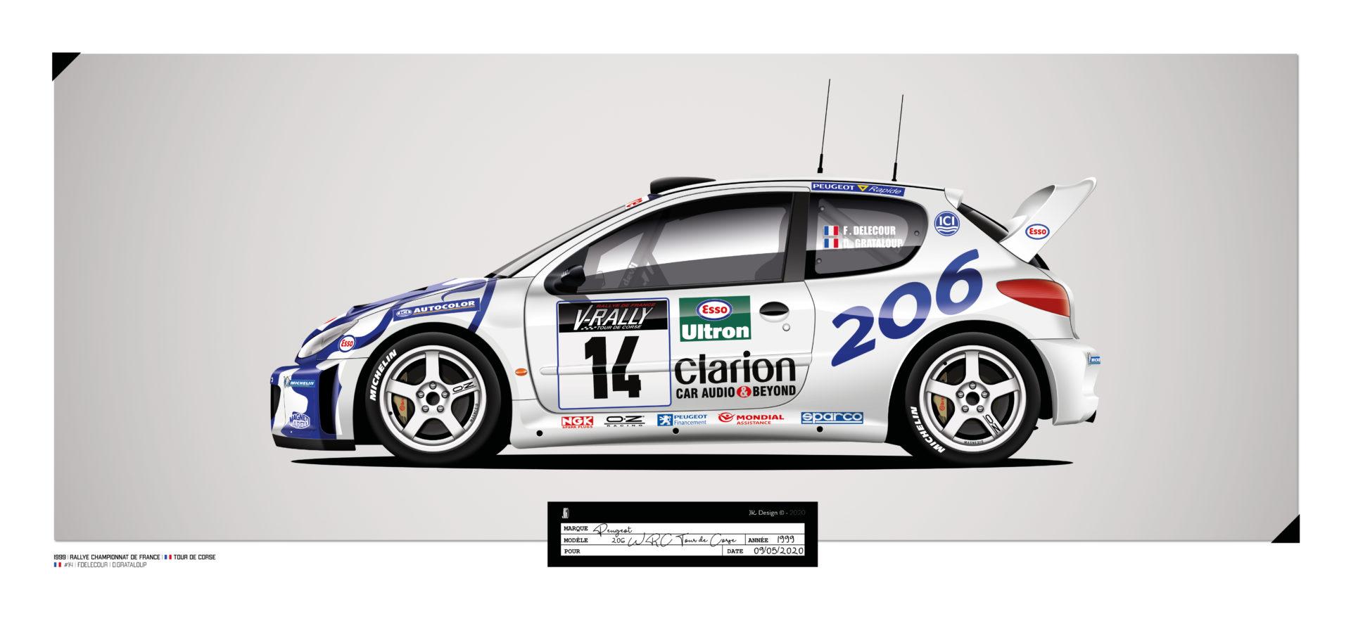 Jk Design - 206 WRC - 22