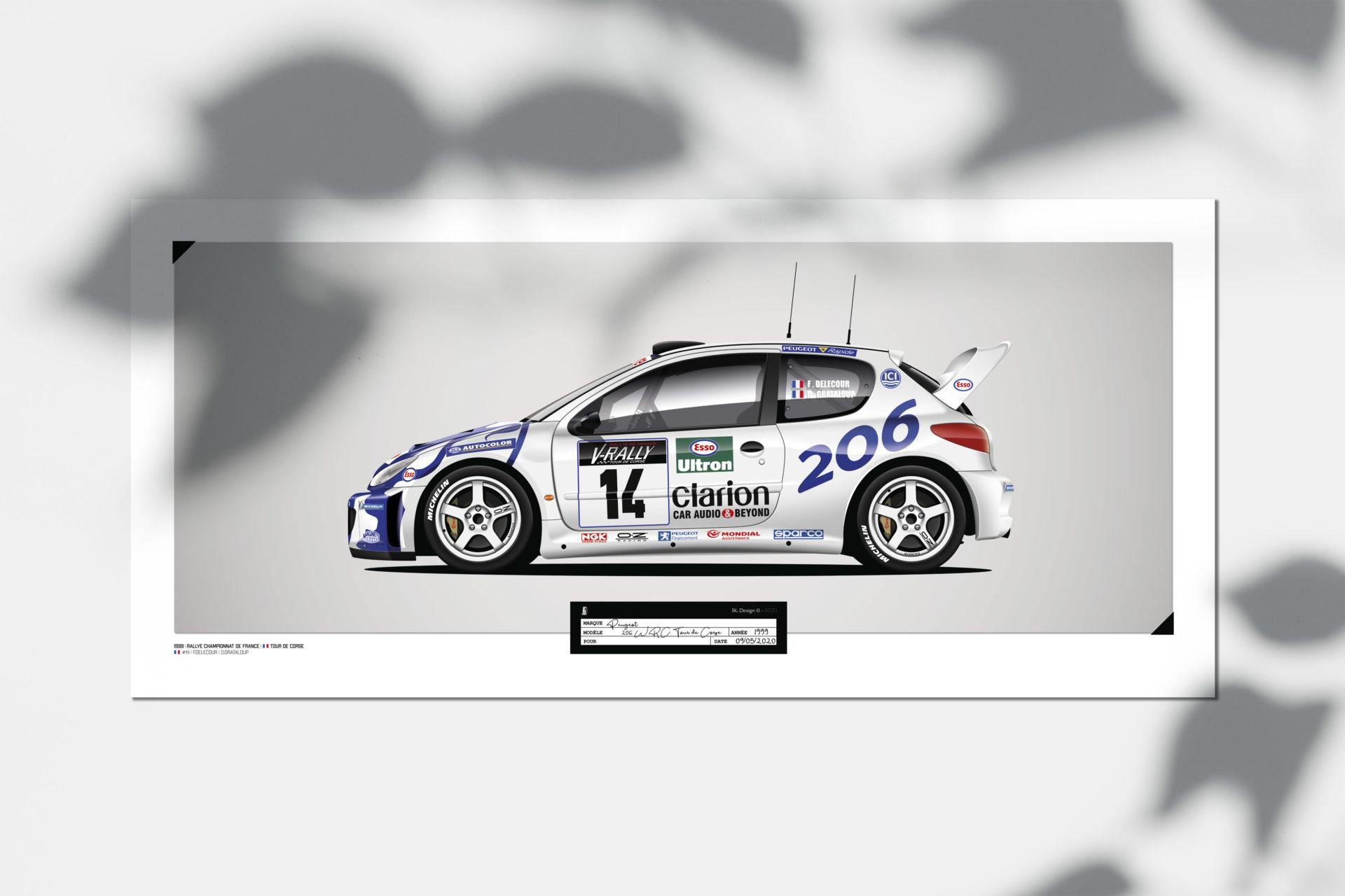 Jk Design - 206 WRC - 29